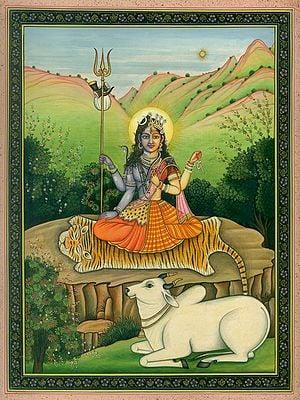 Bhadrasana Ardhanarishvara