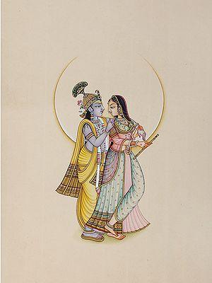 Radha Krishna in Love