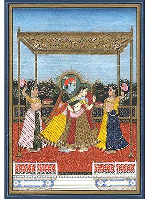 Inspired by Radha and Krishna. . . .