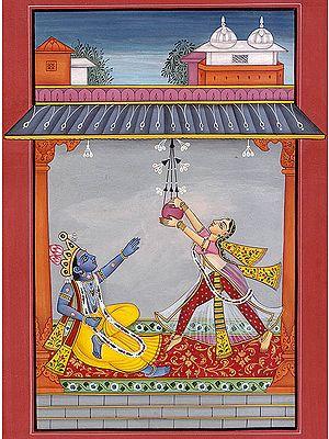 Krishna Asks for Butter