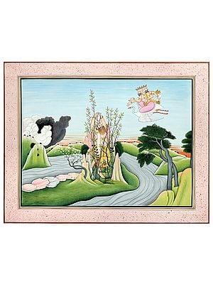 The Zenith Of Hiranyakashipu's Penance