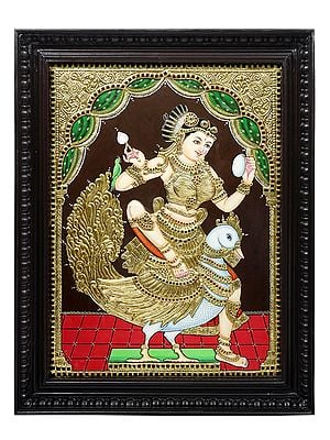 """21"""" x 27"""" Goddess Rati 