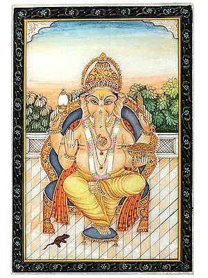 Fine Painting of Lord Ganesha