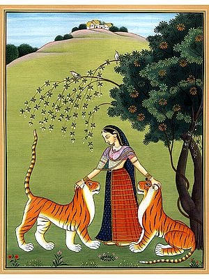 Ragini Sehuti with Tigers
