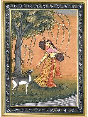 Ragini Todi (Wife of Raga Malkounsa)
