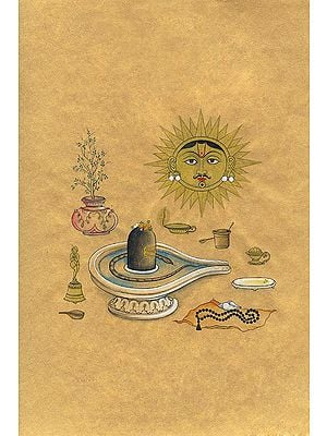Sacred Objects for the Worship of Lord Shiva