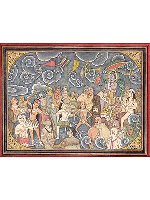 Shiva's Marriage Congregation (Baraat)