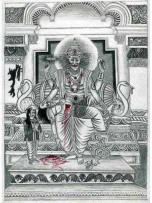 The Salvation of Hiranyakasyapu (Shrimad Bhagavata Purana)