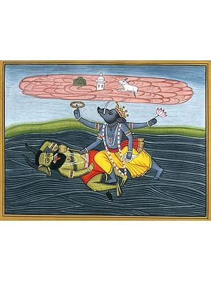 Varaha Incarnation of Lord Vishnu