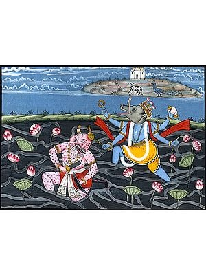 Varaha Incarnation of Vishnu