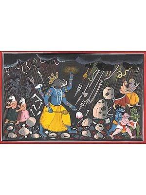 Varaha, the Boar-Incarnation of Vishnu