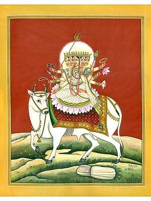 Virasana Devi Mahagauri