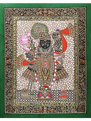 Beautifully Dressed Lord Shrinath