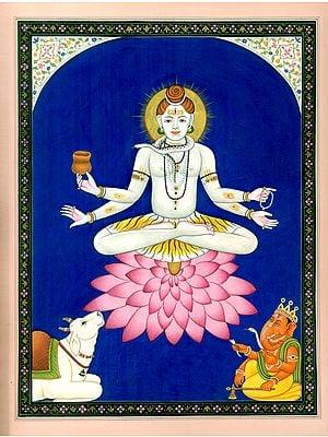 Padmasana Lord Adinath