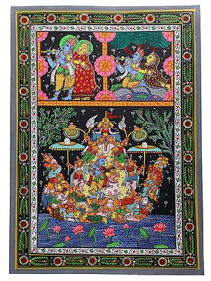 The Romantic Aspect Of Krishnaleela