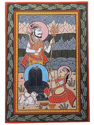 Devi Parvati's Attainment