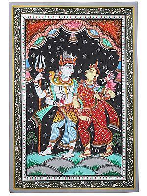Standing Shiva Parvati
