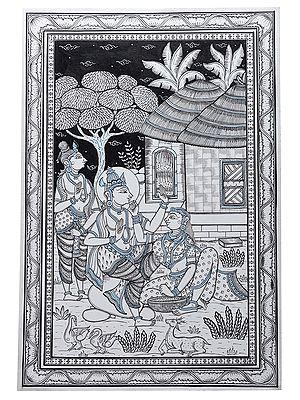Episode of Shabari from the Ramayana