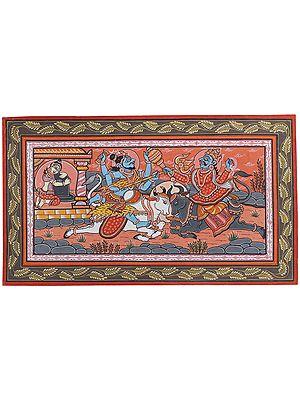 Bhagawan Shiva Fights Yamaraja to Save His Disciple Markandeya