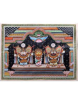 Lord Jagannath in Padma Shringara