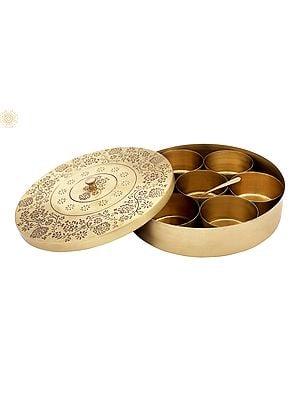 Fine Quality Spice Box (Masala Box)