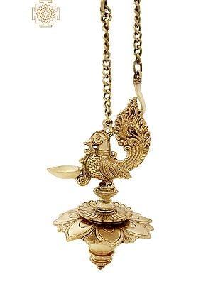 Peacock Hanging Lamp