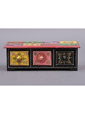 """10"""" Hand Painted Decorated Boxes 
