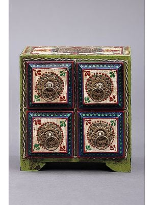 """5"""" Hand Painted Decorated Boxes 