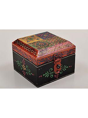 """3"""" Small Hand Painted Decorated Boxes 