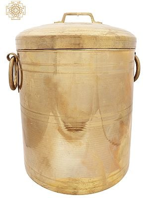 """16"""" Traditional Container Keeping Rice 
