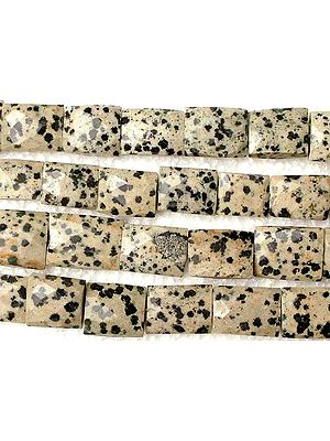 Faceted Dalmatian Agate Chewing Gum