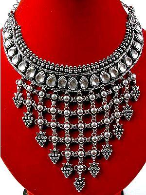 Kundan Chandelier Necklace