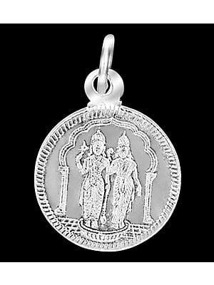 Vishnu Lakshmi Pendant
