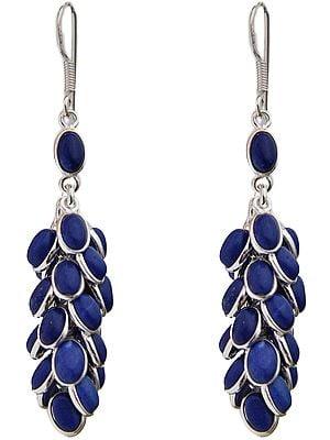 Lapis Lazuli Bunch Earrings
