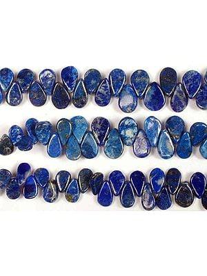Lapis Lazuli Plain Flat Briolette