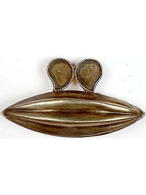 Sterling Melon Pendant