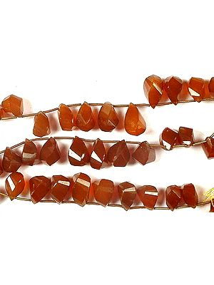 Carnelian Twisted Briolette