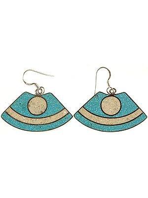 Sterling Inlay Earrings