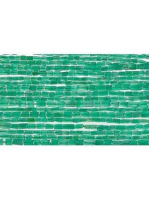 Green Onyx Plain Tubes