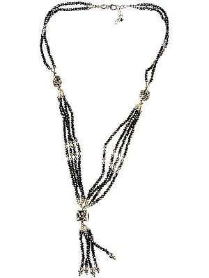 Faceted Hematite Necklace
