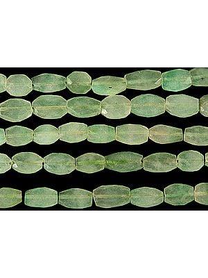 Faceted Aquamarine Ovals