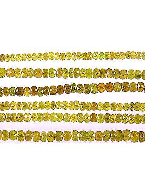 Grossular Garnet Israel Cut Rondells