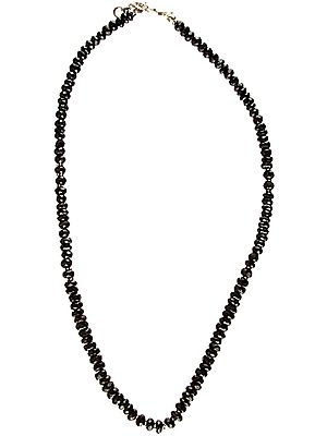 Faceted Black Onyx Necklace