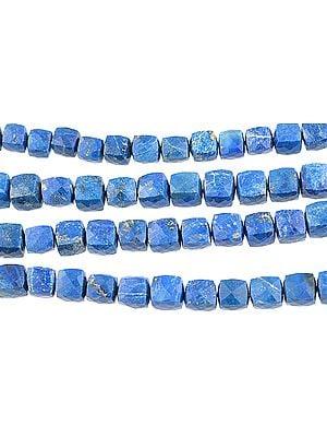 Faceted Lapis Lazuli Boxes