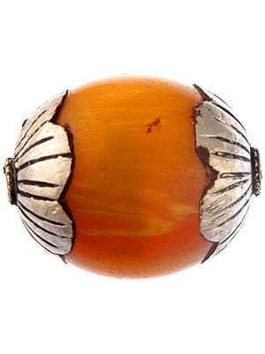 Amber Dust Beads (Price Per Pair)