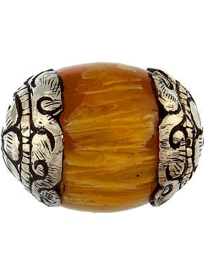 Amber Dust Beads (Price Per Piece)