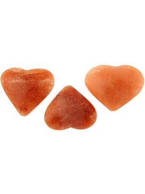 Cherry Quartz Heart (Price Per Piece)