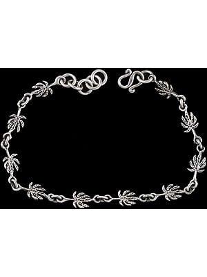 Sterling Pineapple  Bracelet