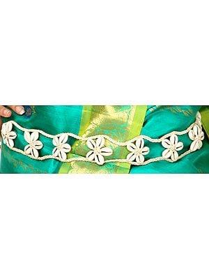 Designer Cowry Belt - belly-chain
