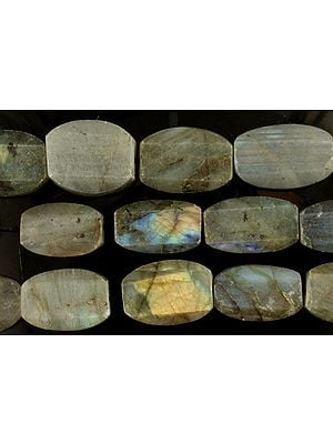 Faceted Labradorite Ovals